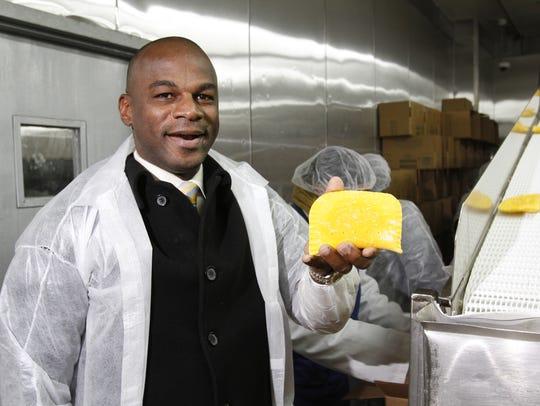 Lowell Hawthorne of Elmsford, CEO of Golden Krust restaurants,