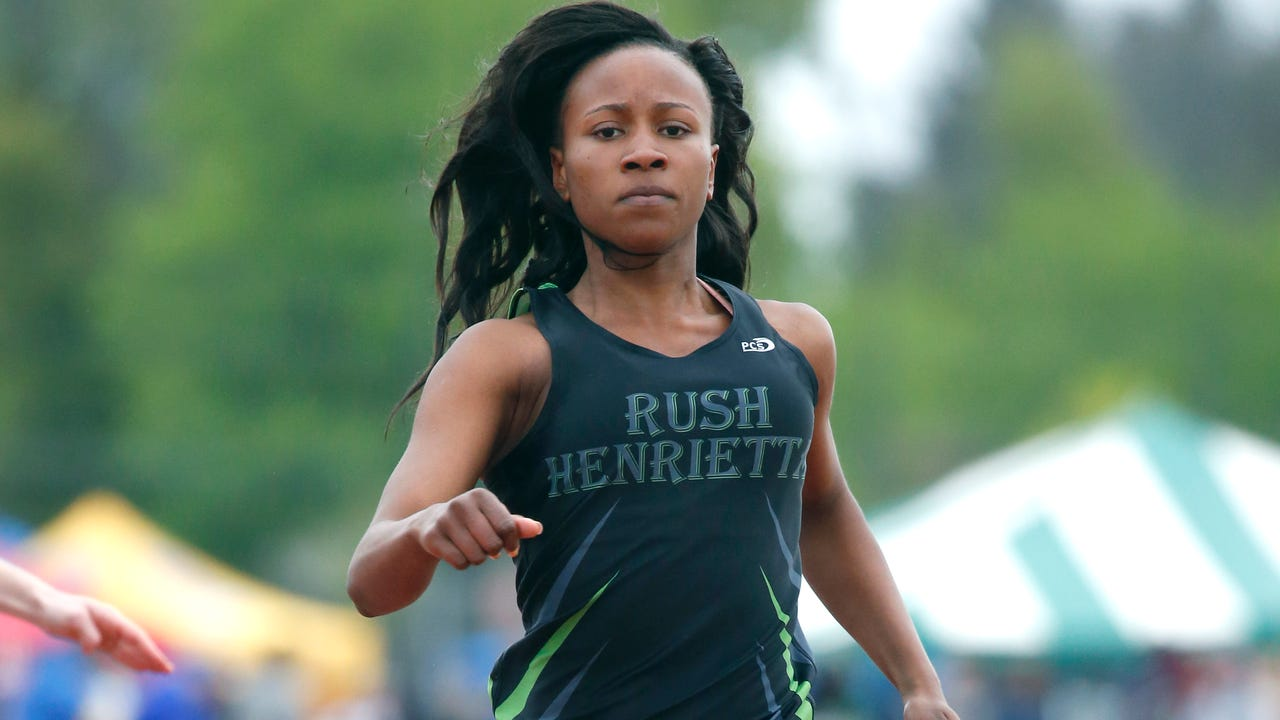 Some of the highlight performances during the annual high school track and field meet at Rush-Henrietta.