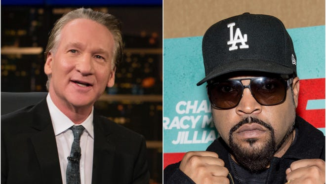 """""""You'll see me on there Friday, and I'll say what I gotta say,"""" Ice Cube told 'Rolling Stone' of his plans to appear on 'Real Time With Bill Maher' Friday."""