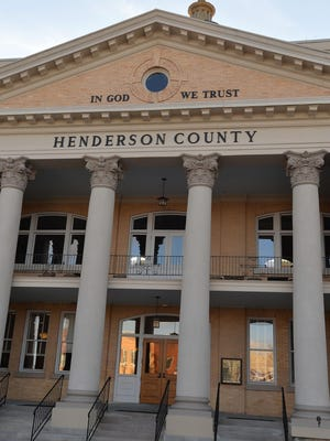 Historic Courthouse in Henderson County.