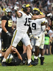 Defensive end Chase Winovich is back to help lead what's