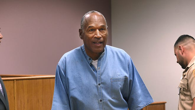 O.J. Simpson can be released from prison as soon as Oct. 1.