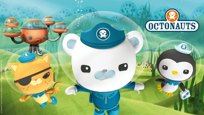 The Octonauts headline the SWFL Parent & Child Family Fun Expo on Saturday, May 27, at Germain Arena in Estero.