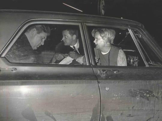 Irene Mortell tells Milwaukee detectives how her husband