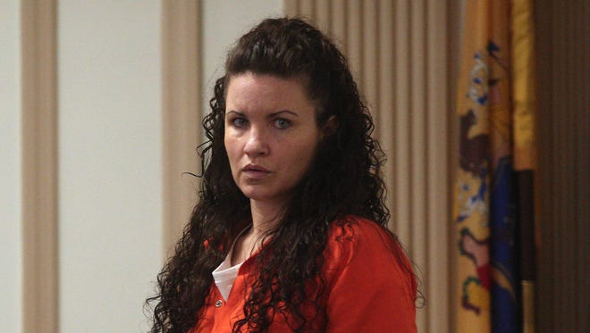 Vanessa Brown, who is charged with killing Ralph Politi in East Hanover in 2012 by driving while intoxicated.