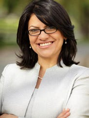 Former Michigan State Representative Rashida Tlaib