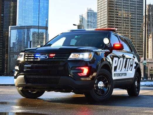 The 2016 Ford Police Interceptor Utility introduced