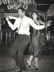 Donald Tolbert and Raquel Gonzalez perform at White