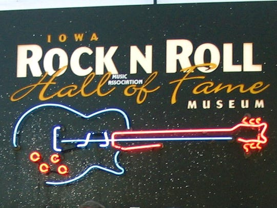 The Iowa Rock and Roll Hall of Fame is in Arnolds Park.