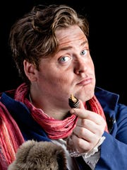 """Andrew Goldwasser portrays Bluntschli in """"Arms and the Man."""" Goldwasser is the Stage Manager in """"Our Town"""" and Scrooge in """"A Christmas Carol."""""""