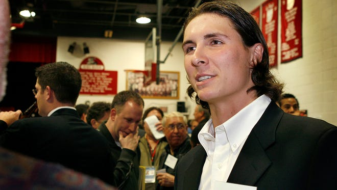 Homer Bailey was honored as the Reds' Minor-League Player of the Year in 2007.