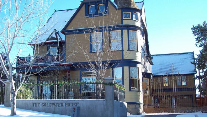 The Henry Goldwater house in Prescott. Part of the 2014 Prescott Historic Home Tour.
