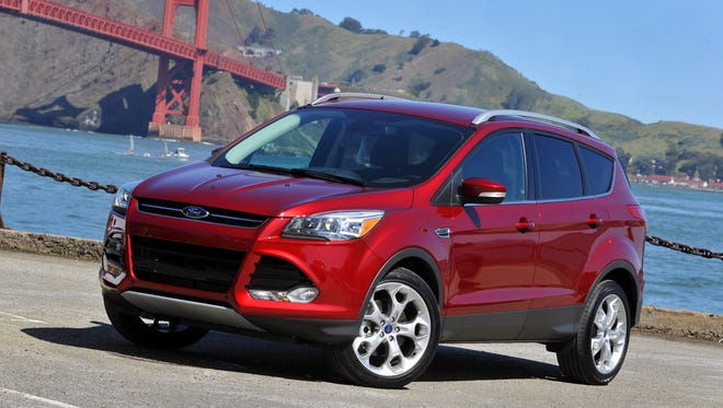 The redesigned 2013 Ford Escape debuted April 15, 2012.