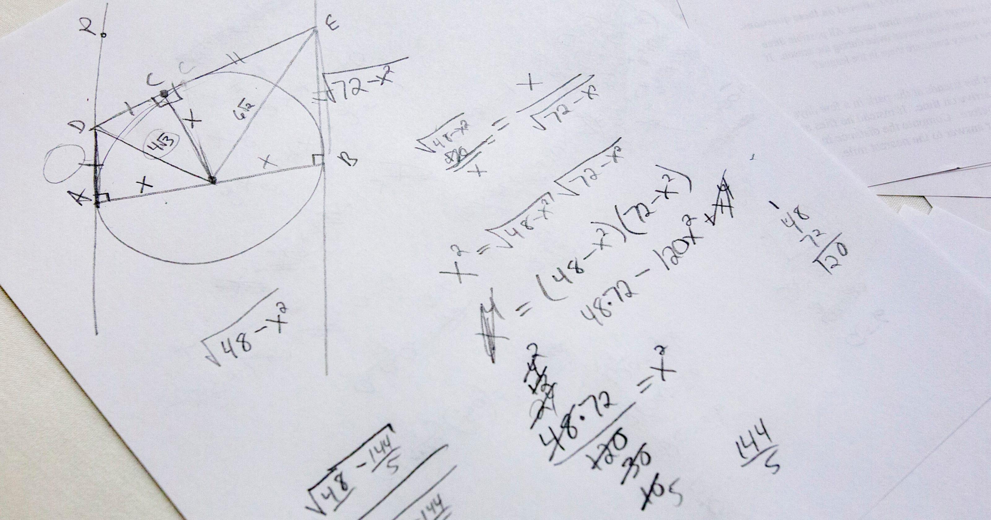 Math League Invitational results