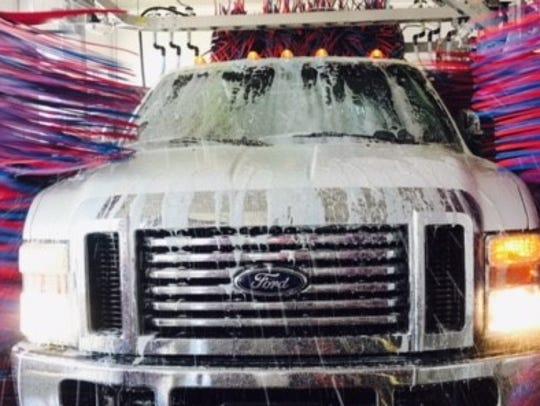 Silverstar Car Wash uses a soft foam that is designed