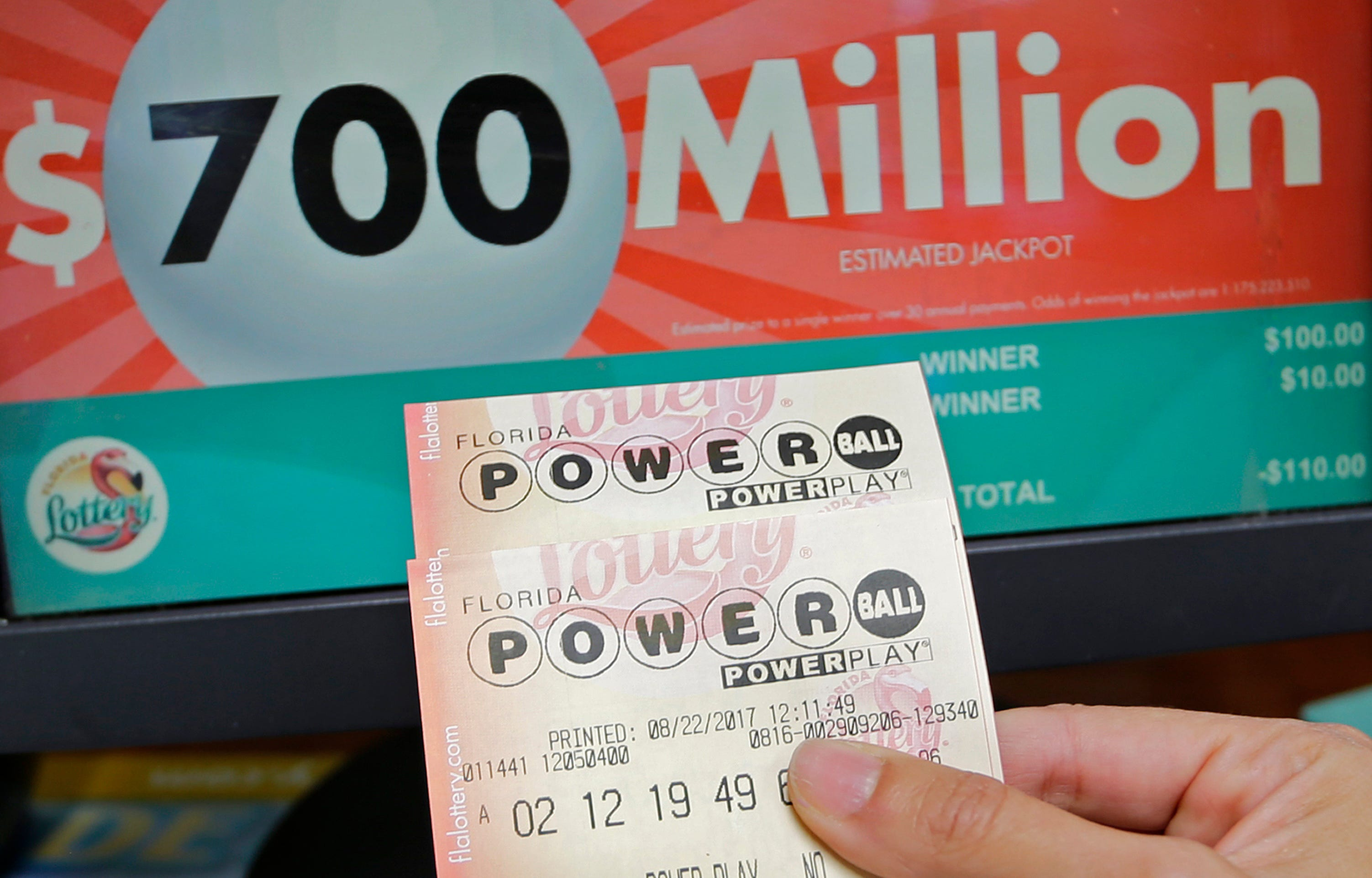 Florida powerball prizes