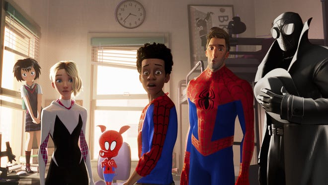 """""""Spider-Man: Into the Spider-Verse"""" plays the Curbside Cinema drive-in movie series Aug. 7 in Wilmington."""