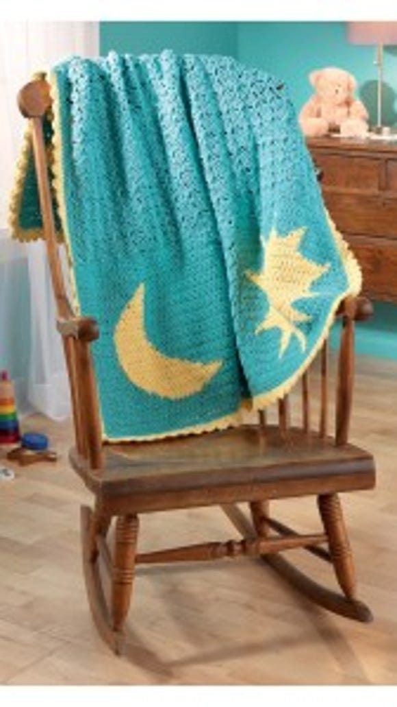 Reversible Color Crochet- Shines So Bright beauty shot