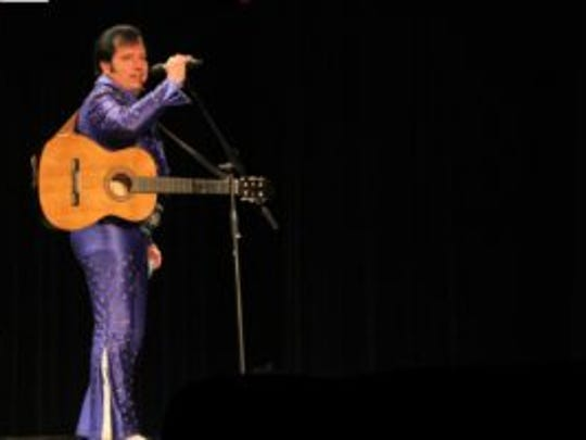 Elvis will take the stage for the Rock 'N Roll Express