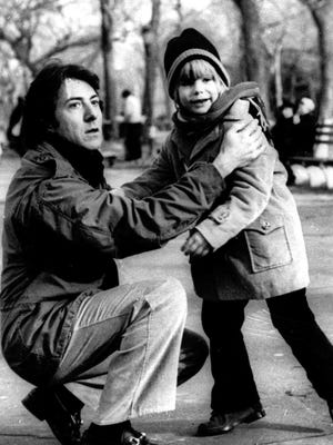 """Dustin Hoffman won an Oscar playing the father of a young son (Justin Henry) in """"Kramer vs. Kramer"""" (1979)."""