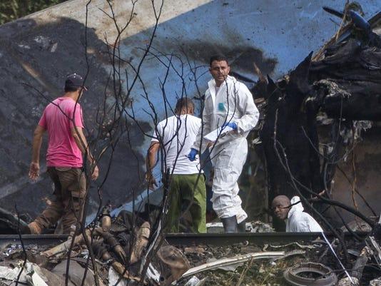 APTOPIX Cuba Plane Crash