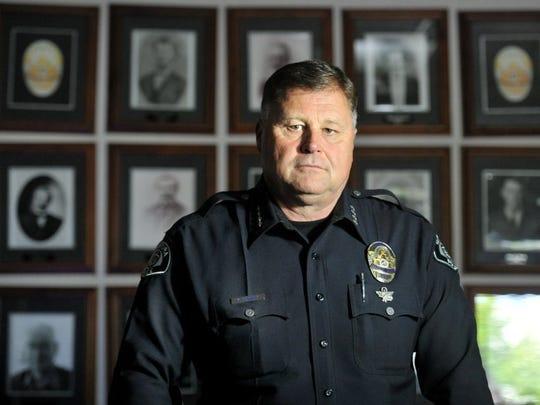 Ventura Police Chief Ken Corney