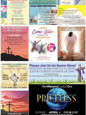 Indianola Easter pages