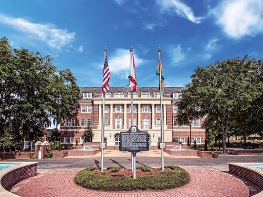 FAMU Lee Hall on FAMU's campus. FAMU Lee Hall sits