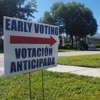 Early voting began at 9 a.m. on Monday and many Marco Island residents took advantage of the convenience that early voting offers. More than 7,600 people cast ballots in Collier County as of 7 p.m. and almost 1,000 of those people are Marco Island residents.