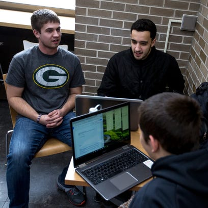 University of Wisconsin-Stevens Point students including