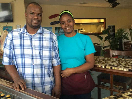 Rupert and Marvia Powell just opened Caribbean Flair