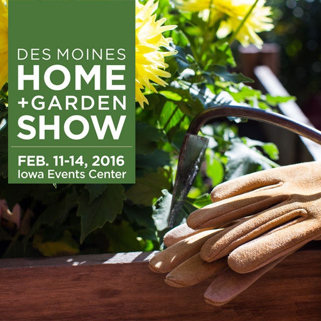 Superb Insider Members: Buy One Ticket, Get One FREE To The Des Moines Home U0026 Garden  Show! Enjoy Feature Gardens, Celebrity Speakers, And Do It Yourself Tips  From ... Photo Gallery