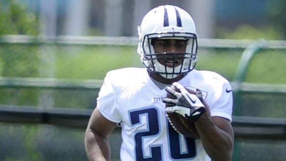 Titans rookie running back Bishop Sankey