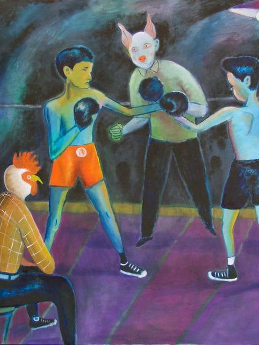 MAIN_Santiago Cohen_The Fight_Courtesy the artist