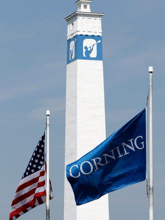 Corning flag