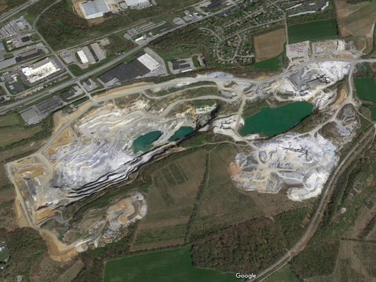 Ensminger & Williams Quarry