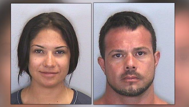 Police say Elissa Alvarez and Jose Caballero had sex on Bradenton Beach, in full view of other beachgoers. One witness reportedly caught the tryst on cell phone video.