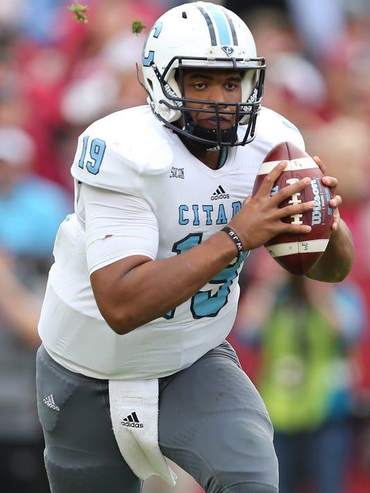 NCAA Football: The Citadel at South Carolina