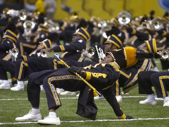 The Grambling State University Tiger Marching Band