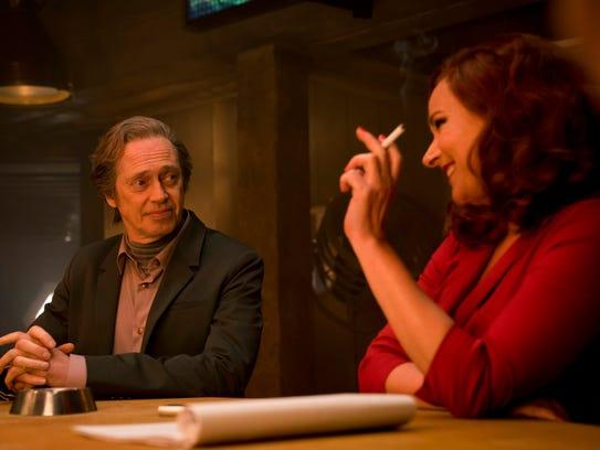Steve Buscemi as Ed and Sidse Babett Knudsen as Jill