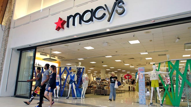 Macy's is just one of many chain stores nationwide that is hiring additional staff for the holidays.  (AP Photo/Alan Diaz) ORG XMIT: FLAD550
