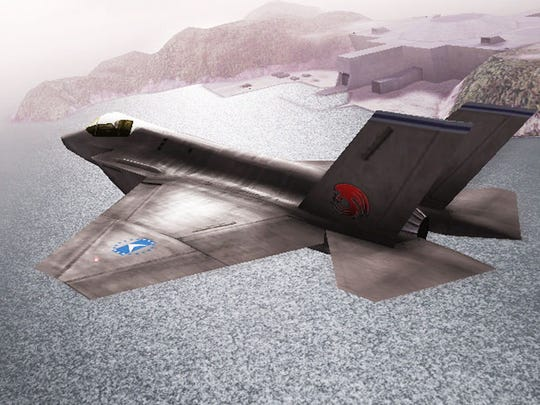 """Take to the skies in """"Ace Combat Assault Horizon Legacy+"""" for the Nintendo 3DS."""