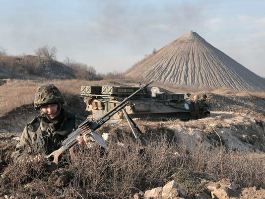 US Russian Separatist Forces