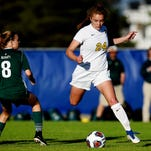 Lily Stephan will play any position, any match for DeWitt girls soccer