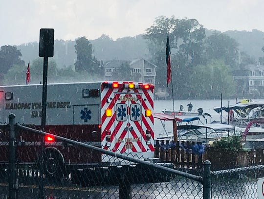 The Mahopac Volunteer Fire Department responded to