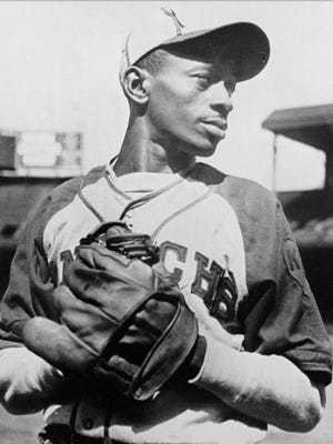 Hall of Fame pitcher Satchel Paige