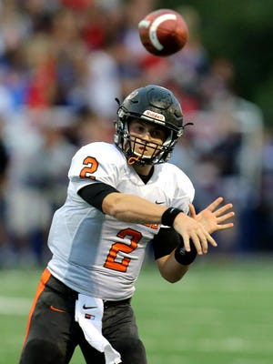 Ryle quarterback Tanner Morgan and receiver Bryce Ashley developed their chemistry in middle school.