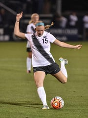 Cedar Crest grad Haleigh Echard helped the Penn State women's soccer team to the national championship on Sunday in a 1-0 win over Duke. Echard is a sophomore midfielder who helped Cedar Crest to back-to-back Lancaster-Lebanon League titles in 2012 and 2013.