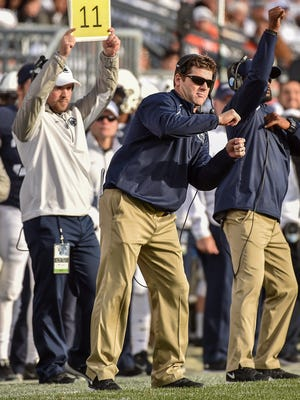 Brent Pry will take over as Penn State's new defensive coordinator, the university announced Sunday.