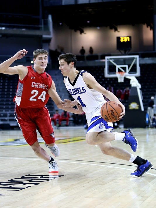 Dixie Heights vs Covington Catholic Boys BBall
